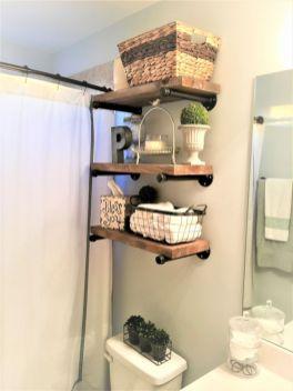 Simple bathroom storage ideas 34