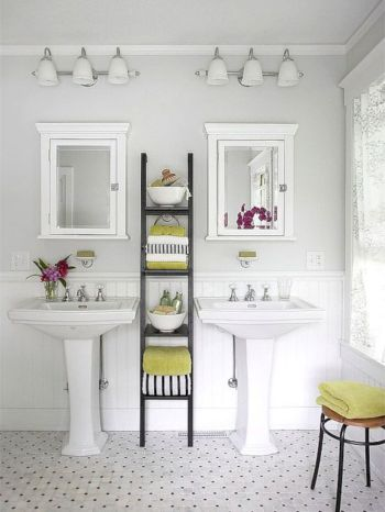 Simple bathroom storage ideas 39