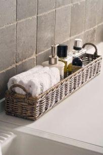 Simple bathroom storage ideas 46