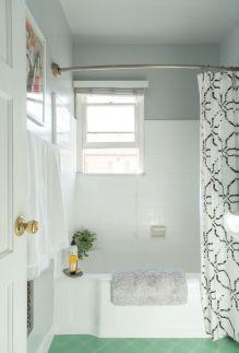 Affordable bathroom design ideas for apartment 16