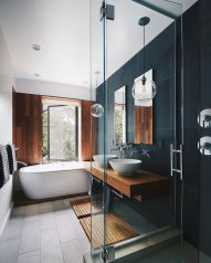 Affordable bathroom design ideas for apartment 24