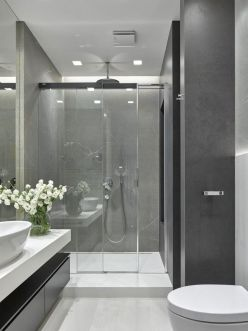 Affordable bathroom design ideas for apartment 43