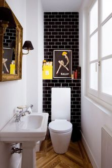 Affordable bathroom design ideas for apartment 45