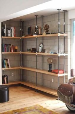 Affordable bookshelves ideas for 2019 07