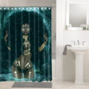 Amazing bathroom curtain ideas for 2019 06