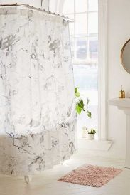 Amazing bathroom curtain ideas for 2019 11