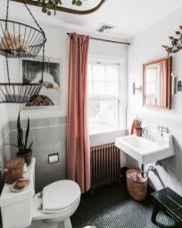 Amazing bathroom curtain ideas for 2019 13