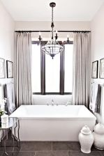 Amazing bathroom curtain ideas for 2019 17