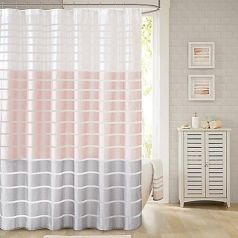 Amazing bathroom curtain ideas for 2019 29