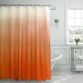 Amazing bathroom curtain ideas for 2019 35