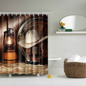 Amazing bathroom curtain ideas for 2019 36