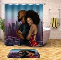 Amazing bathroom curtain ideas for 2019 39