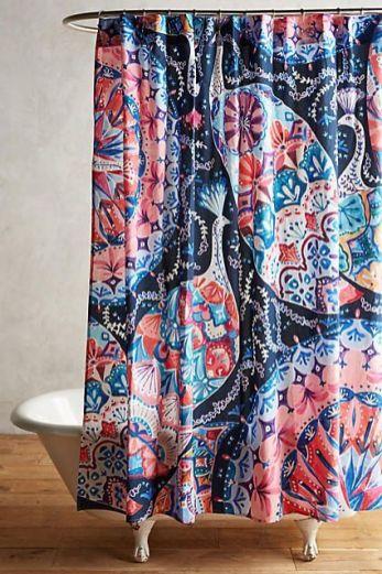 Amazing bathroom curtain ideas for 2019 46