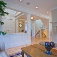 Awesome big living room design ideas with stairs 02