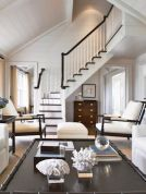 Awesome big living room design ideas with stairs 08
