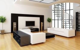 Awesome big living room design ideas with stairs 15
