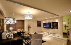 Awesome big living room design ideas with stairs 27