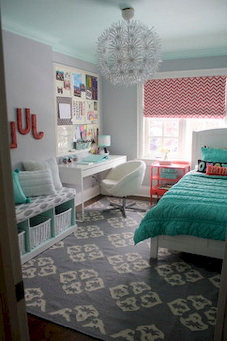 Charming fun tween bedroom ideas for girl 17