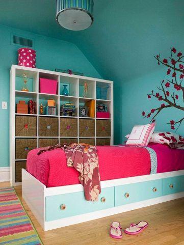 Charming fun tween bedroom ideas for girl 42