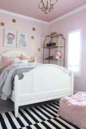 Charming fun tween bedroom ideas for girl 52