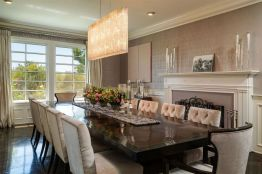 Comfy formal table centerpieces decorating ideas for dining room 05