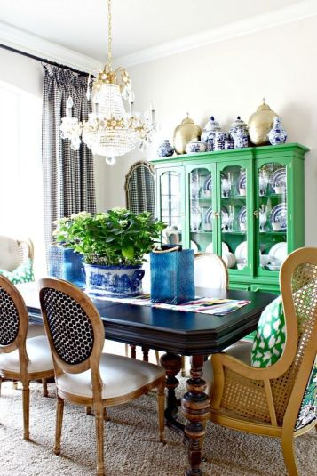Comfy formal table centerpieces decorating ideas for dining room 06