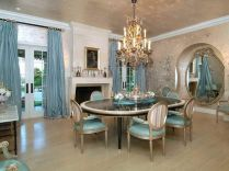 Comfy formal table centerpieces decorating ideas for dining room 11