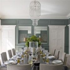 Comfy formal table centerpieces decorating ideas for dining room 12