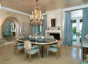 Comfy formal table centerpieces decorating ideas for dining room 17