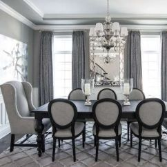 Comfy formal table centerpieces decorating ideas for dining room 34