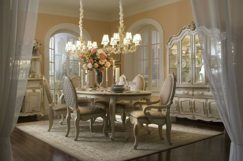 Comfy formal table centerpieces decorating ideas for dining room 36