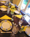 Comfy formal table centerpieces decorating ideas for dining room 53