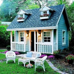 Cool small gardening ideas for tiny house 45