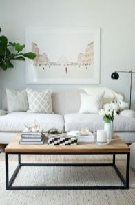 Creative coffee table design ideas for living room 10