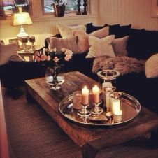 Creative coffee table design ideas for living room 24