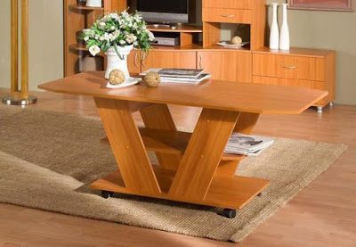 Creative coffee table design ideas for living room 47
