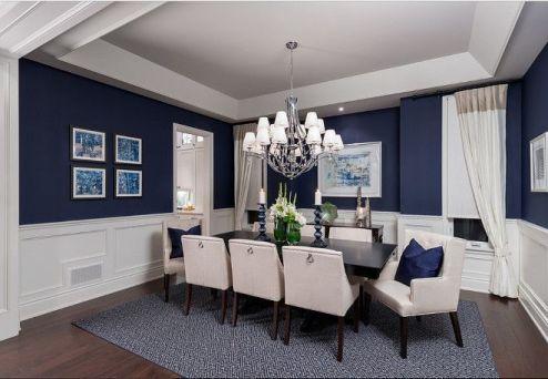 Cute dining room rug decorating ideas 03