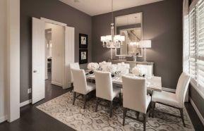 Cute dining room rug decorating ideas 05