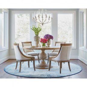 Cute dining room rug decorating ideas 06