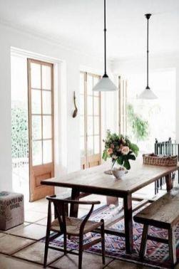 Cute dining room rug decorating ideas 15