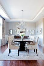 Cute dining room rug decorating ideas 43