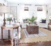 Cute french style living room for new home style 09