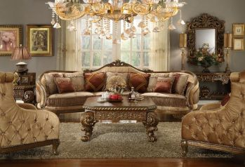 Cute french style living room for new home style 11