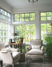 Cute french style living room for new home style 12