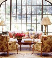 Cute french style living room for new home style 18