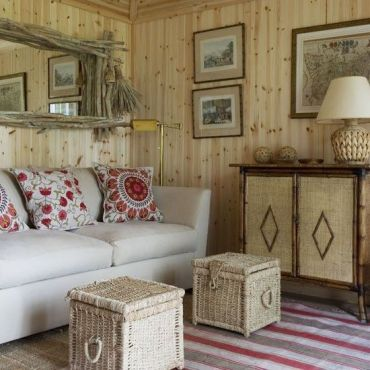 Cute french style living room for new home style 30