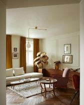 Cute french style living room for new home style 48