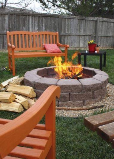 Elegant backyard landscaping ideas using bricks 12