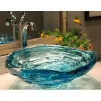Elegant bowl less sink bathroom ideas 40