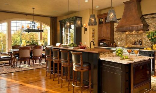Fancy rustic italian decor ideas 21
